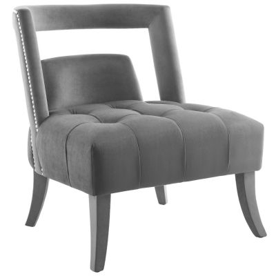 Onur Performance Velvet Accent Lounge Armchair