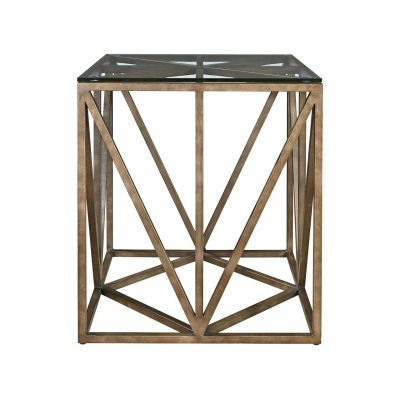 Authencity Truss Square End Table Franklin Lakes