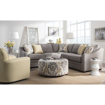 Bristol 2 Pcs Sectional in Sugarshack