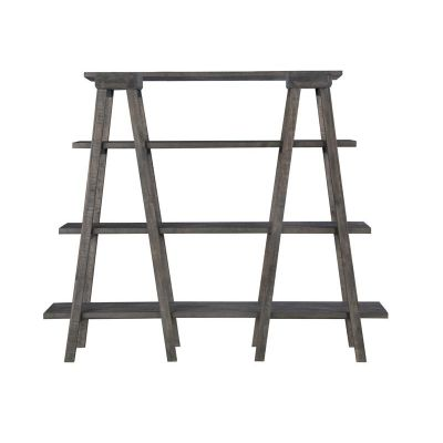 Sutton Place Weathered Charcoal Bookshelf