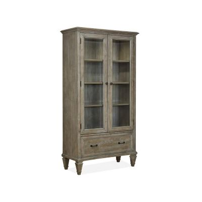 Lancaster Dovetail Grey Door Bookcase