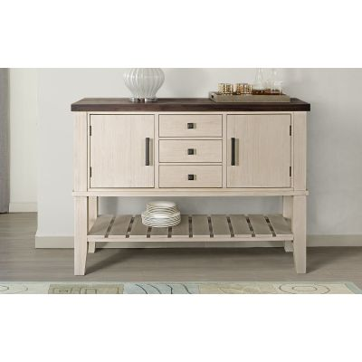 Huron Chalk & Cocoa Bean Dining Room Server