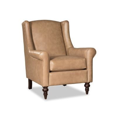Rolca Tan Leather Chair