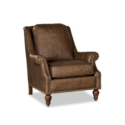 Maria Brown Leather Chair