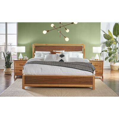 Modway Natural Queen Panel Bed