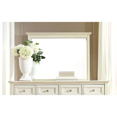 Northlake White Dresser Mirror