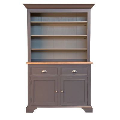 Port Townsend Brushed Nickel China Cabinet