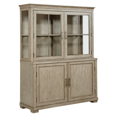 American Drew West Fork Light Brown Nolan Display Cabinet