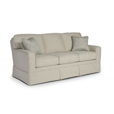 Annabel Living Room Track Arm Sofa with Skirt East Rutherford