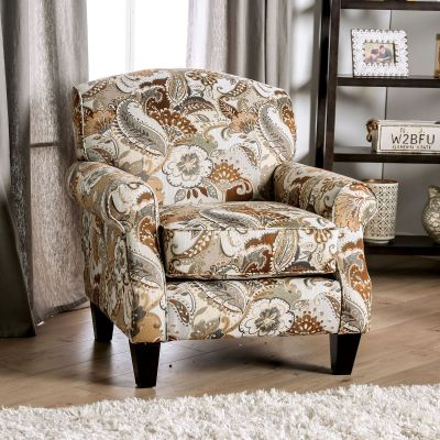 Begley Floral Accent Chair Rutherford