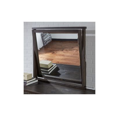 Sun Valley Charcoal Dresser Mirror