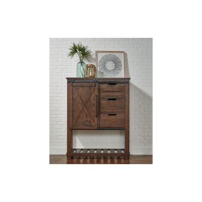 Sun Valley Rustic Timber Door Chest