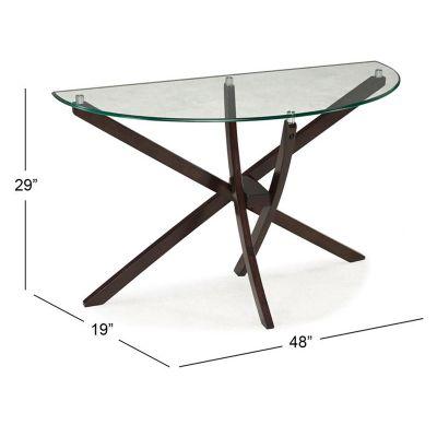 Xenia Demilune Sofa Table