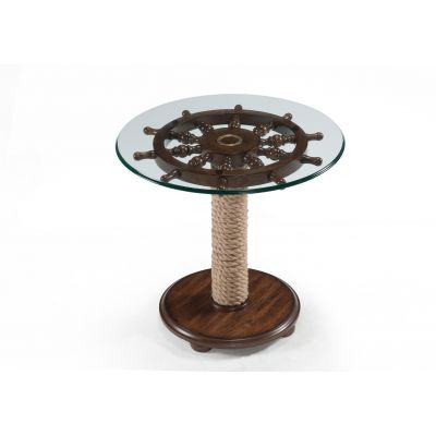Beaufort Round Accent End Table