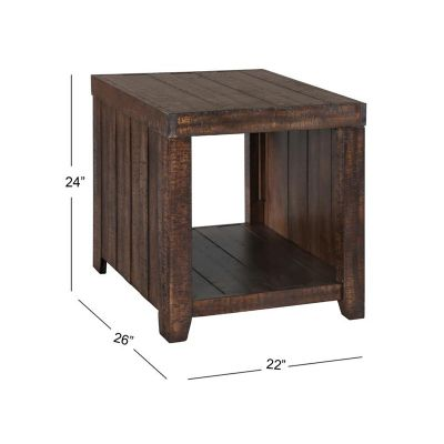 Caitlyn Rectangular End Table