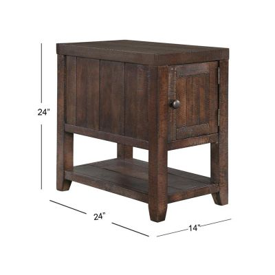 Caitlyn Rectangular Chariside End Table