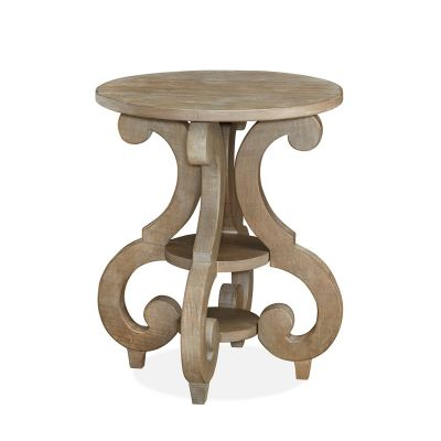 Tinley Park Round Accent Table
